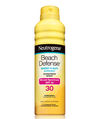 Neutrogena Beach Defense Sunscreen Spray Broad Spectrum SPF 30