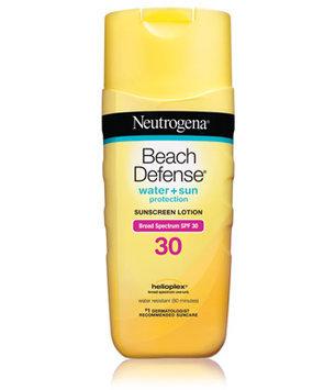 Neutrogena Beach Defense Sunscreen Lotion Broad Spectrum SPF30