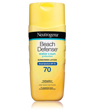Neutrogena Beach Defense Sunscreen Lotion Broadspectrum SPF 70