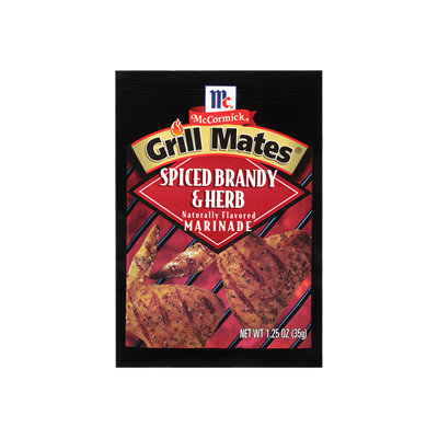 McCormick® Grill Mates® Spiced Brandy & Herb Marinade