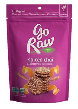 Go Raw Organic Super Cookies Masala Chai