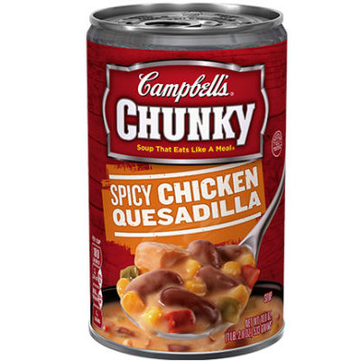 Campbell's® Chunky Spicy Chicken Quesadilla Soup