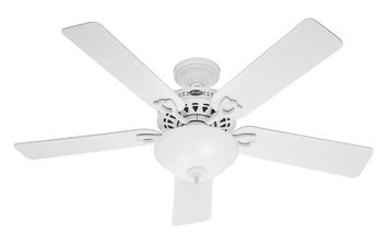 Hunter Fan Company Hunter Fan 53059 THE ASTORIA 52 WHITE FAN