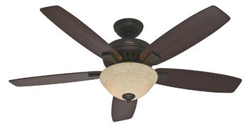 Hunter Fan Company Hunter Fan 53176 52 BANYAN BRONZE CEILING FAN