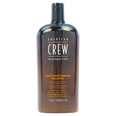 American Crew, Inc. Daily Moisturizing Shampoo by American Crew for Unisex - 33.8 oz Shampoo