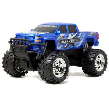 Jada Toys, Inc. Jada Toys Rechargers Just Trucks Remote Control 49 MHz - Blue 2014 Chevy Silverado Z71