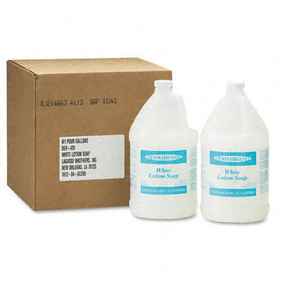 Dermabrand Lotion Soap, Unscented, 1 Gallon, 4/Ctn