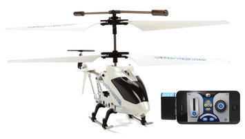 World Tech Toys iFly 3.5ch App-Controlled Helicopter (White)