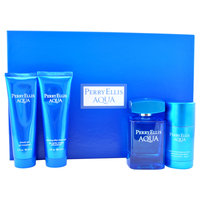 Perry Ellis Aqua Perry Ellis 4 pcGift Set Men