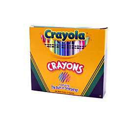 Crayola Crayons with Built In Sharpener 64 ct - BINNEY & SMITH INC.