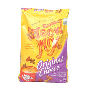 Meow Mix Adult Cat Food Original Mix 18 Pound Bag - Nestlé USA