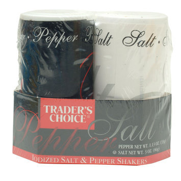 Trader's Choice Salt & Pepper Shaker Set - SPECIALTY BRANDS, INC.