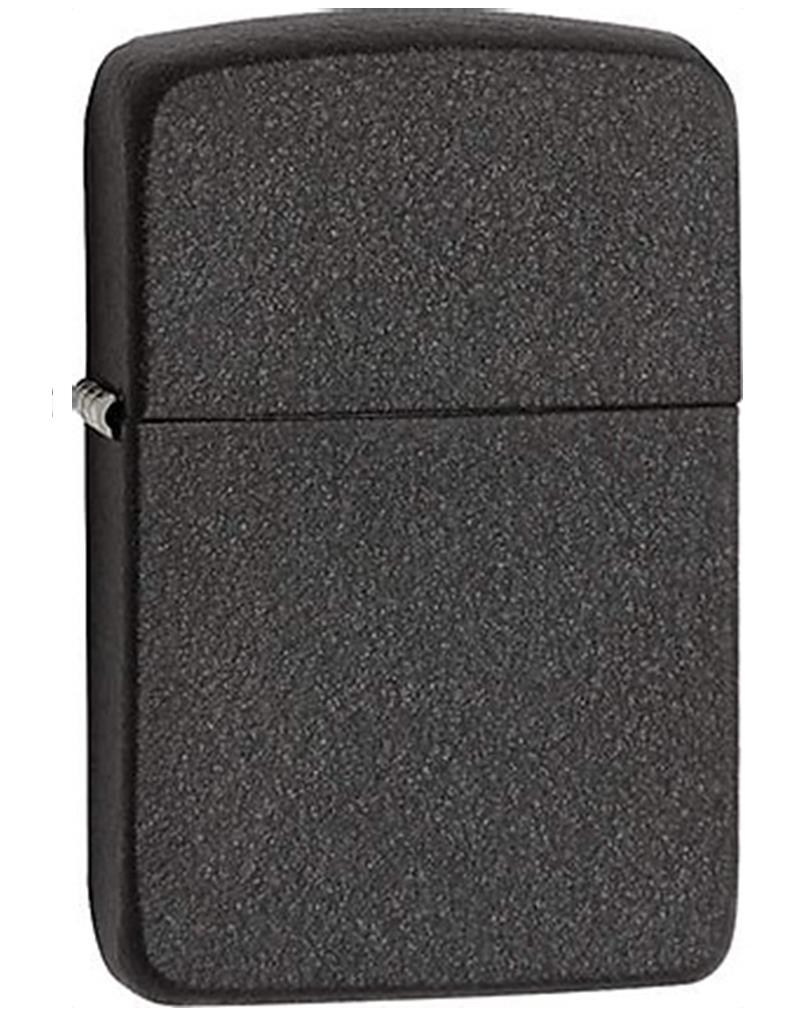 Zippo 28582 Replica 1941 Black Crackle Windproof Pocket Lighter
