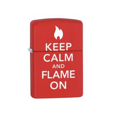 Zippo Keep Calm & Flame On Lighter 28671
