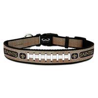 Game Wear Inc NFL New Orleans Saints Reflective Dog Collar MD