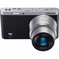 Samsung 20.5MP Mirrorless Interchangeable Lens Camera with 9-27mm Lens, Black