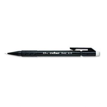Pentel Of America, Ltd. Pentel Mechanical Pencil,0.5mm, trans Gray, pk 12 Penal15a 35y471