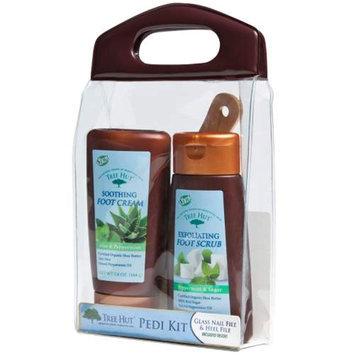 Naterra International Inc. Pedi Care Kit w/ Foot Scrub & Cream 5.8 oz.