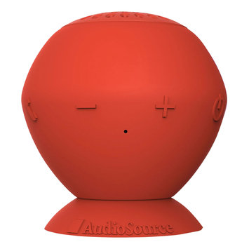 AudioSource SP2E Audiosource SoundPop Bluetooth Speaker - Red