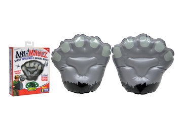 Wicked Cool Toys Ani-Maulz Giant Inflatable Animal Mitts - Gorilla