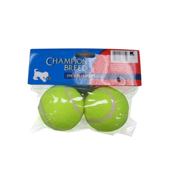 Kmart Corporation 2.5-Inch Pet Tennis Ball 2 Pack