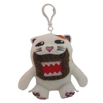 Domo Clip On Cat Plush