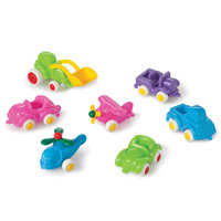 Viking Pastel Little Chubbies Gift Set (7 Vehicles)