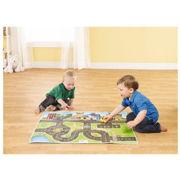 Viking Toys Storage Playmat With 2 Cars