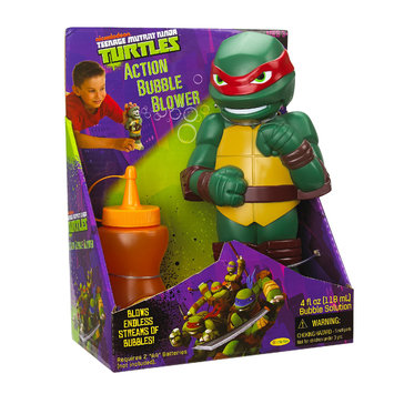 Little Kids Inc. Teenage Mutant Ninja Turtles Raphael Action Bubble Blower