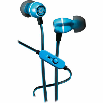 iHOME Noise-Isolating Metal Earbuds with Volume Control and Pouch