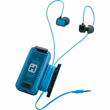 Sdi Techonlogies Inc. iHOME FIT Earbuds with Clip-On LED Safety Flasher and Cordwrap