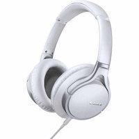 Sony Hi-Res White Stereo Headphones MDR10R WHI