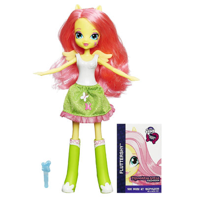 Hasbro Fluttershy Equestria Girls Collection My Little Pony Doll