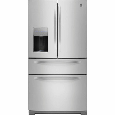 28.1 cu. ft. French Door Refrigerator w/ Fresh Storage Drawer - Stainless Steel