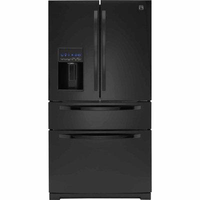 28.1 cu. ft. French Door Refrigerator w/ Fresh Storage Drawer - Black
