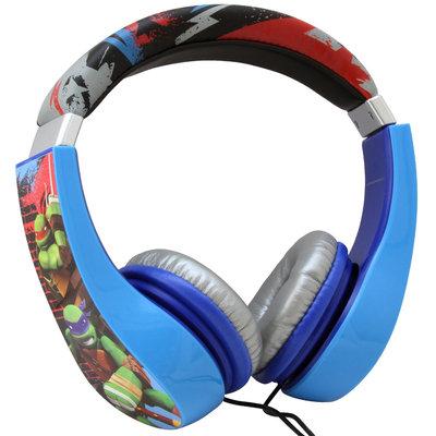 Sakar International Teenage Mutant Ninja Turtles Kids Friendly Headphones