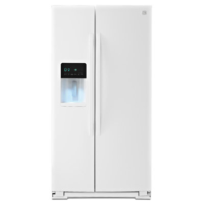 22 cu. ft. Side-by-Side Refrigerator - White