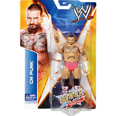 Mfg Id For Dot.com Items CM Punk - WWE SummerSlam Heritage Series 2014 Toy Wrestling Action Figure