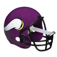 Scotch Magic Tape Dispenser Minnesota Vikings Football Helmet - Holds Total 1 Tape[s] - Refillable - Purple (c32helmetmin)