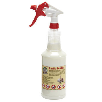 Just Scentsational! Pest Control 32 oz. Trigger Sprayer with Garlic Scentry Animal Repellent Spray GAR-32TRQ