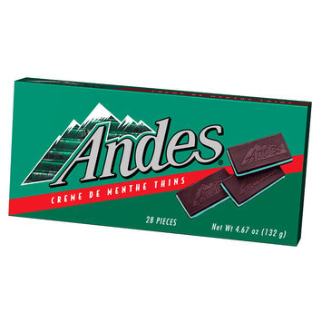 Andes Creme De Menthe Thins Candy