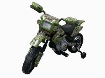 Fun Wheels True Timber Camo Battery Powered Motorcycle