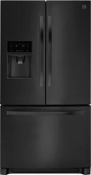 Kenmore 27 cu. ft. French Door Refrigerator Black - FRIGIDAIRE COMPANY