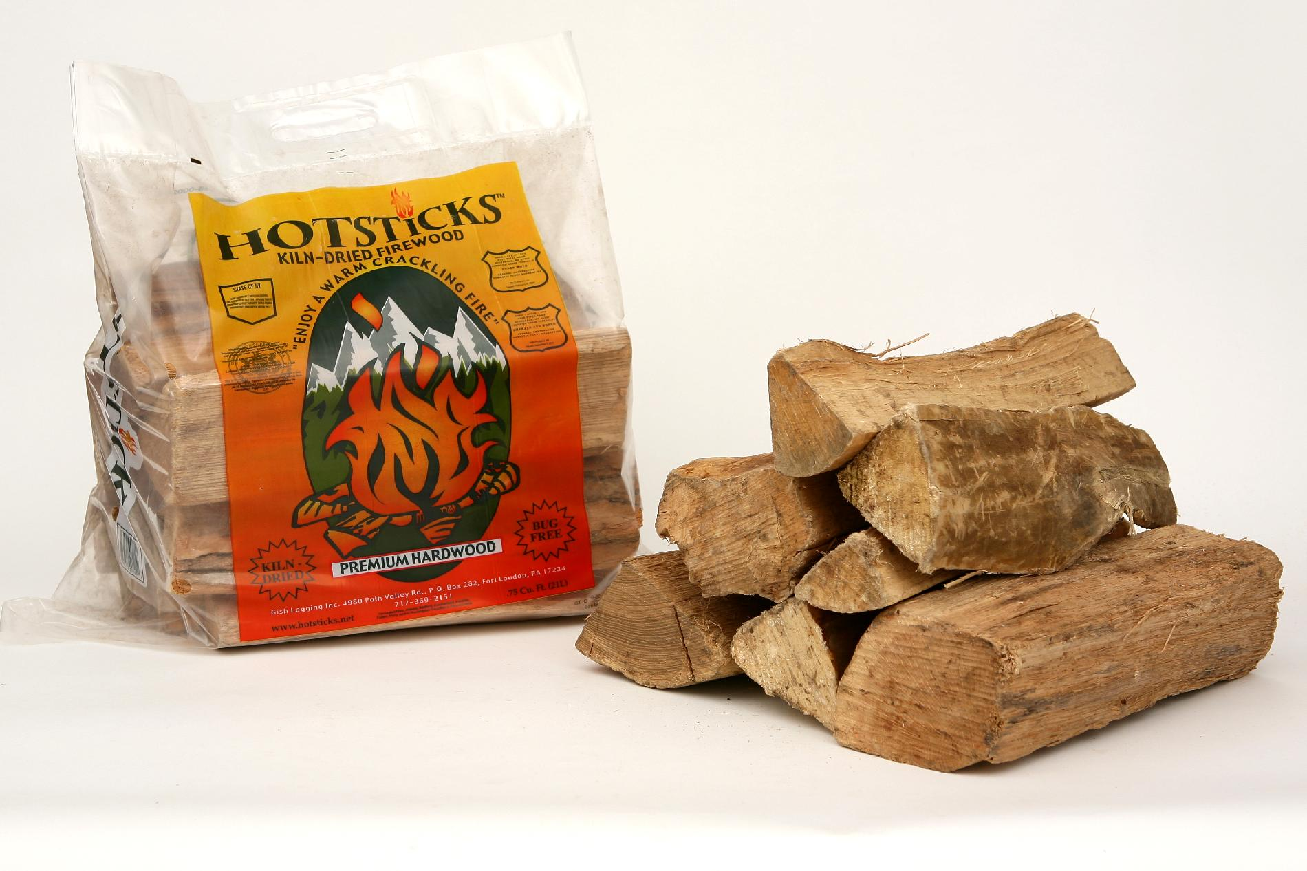 10 Minute Solution Hotsticks .75 Cubic Feet with Starter - GISH LOGGING, INC.