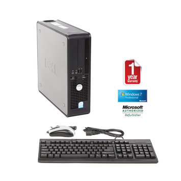 Joy Systems, Inc Dell 745 refurbished small form factor PD 3.4/2048/160/CD/W7P