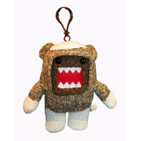Domo Sock Monkey Plush Clip On