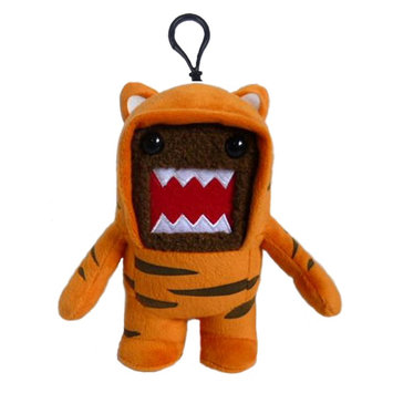 Domo Tiger Plush Clip On