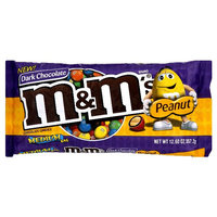 M&M'S® Chocolate Candies, Dark Chocolate, Peanut
