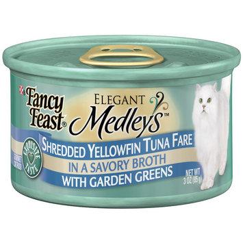 Nestlé' Usa Elegant Medleys Moist Cat Food Shredded Yellowfish Tuna Fare 3 Ounce Can