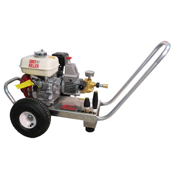 Dirt Killer 9800229-s H260 2600 PSI, 3.5 GPM, 6.5 HP, Gear-Drive Honda Industria